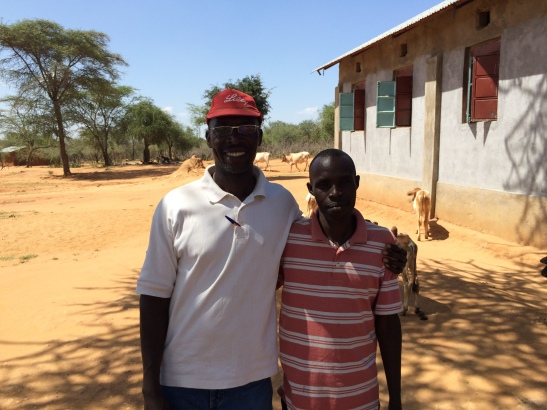 Edward Simiyu (left) was Jacob's Wells original connection to the Pokot region and continues to be our foremost leader in the project. Julius Sawe (right) resides in Asilong and is our greatest connection to the local people. Both are incredible servants to Jacob's Well and the Pokot.